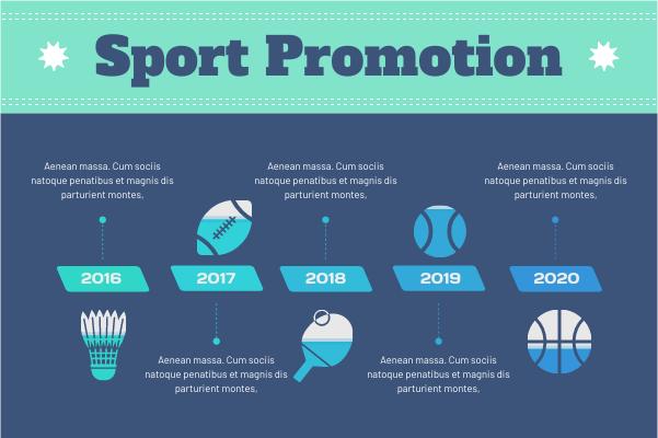 Sport template: Sport Promotion (Created by InfoChart's Sport maker)