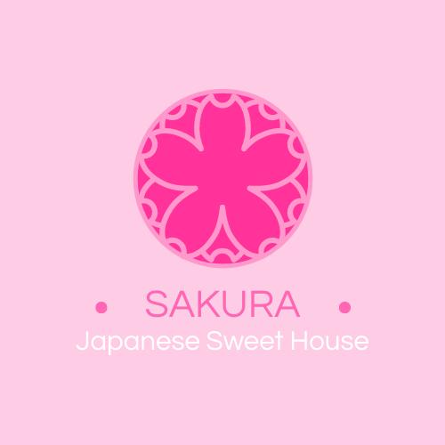 Logo template: Pink Sakura Logos (Created by InfoART's Logo maker)