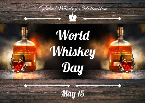 Postcard template: Photographic Whiskey Postcard (Created by InfoART's Postcard maker)