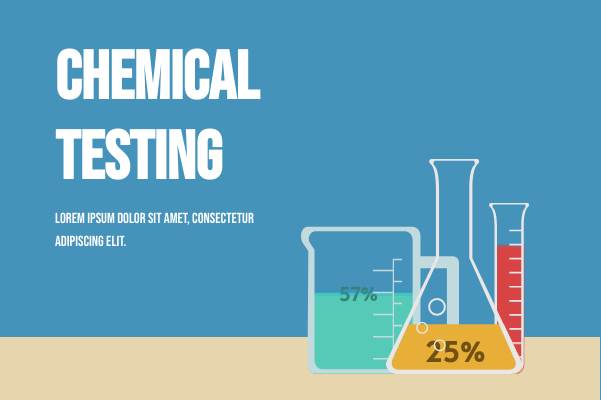 Laboratory template: Chemical Testing (Created by InfoChart's Laboratory maker)