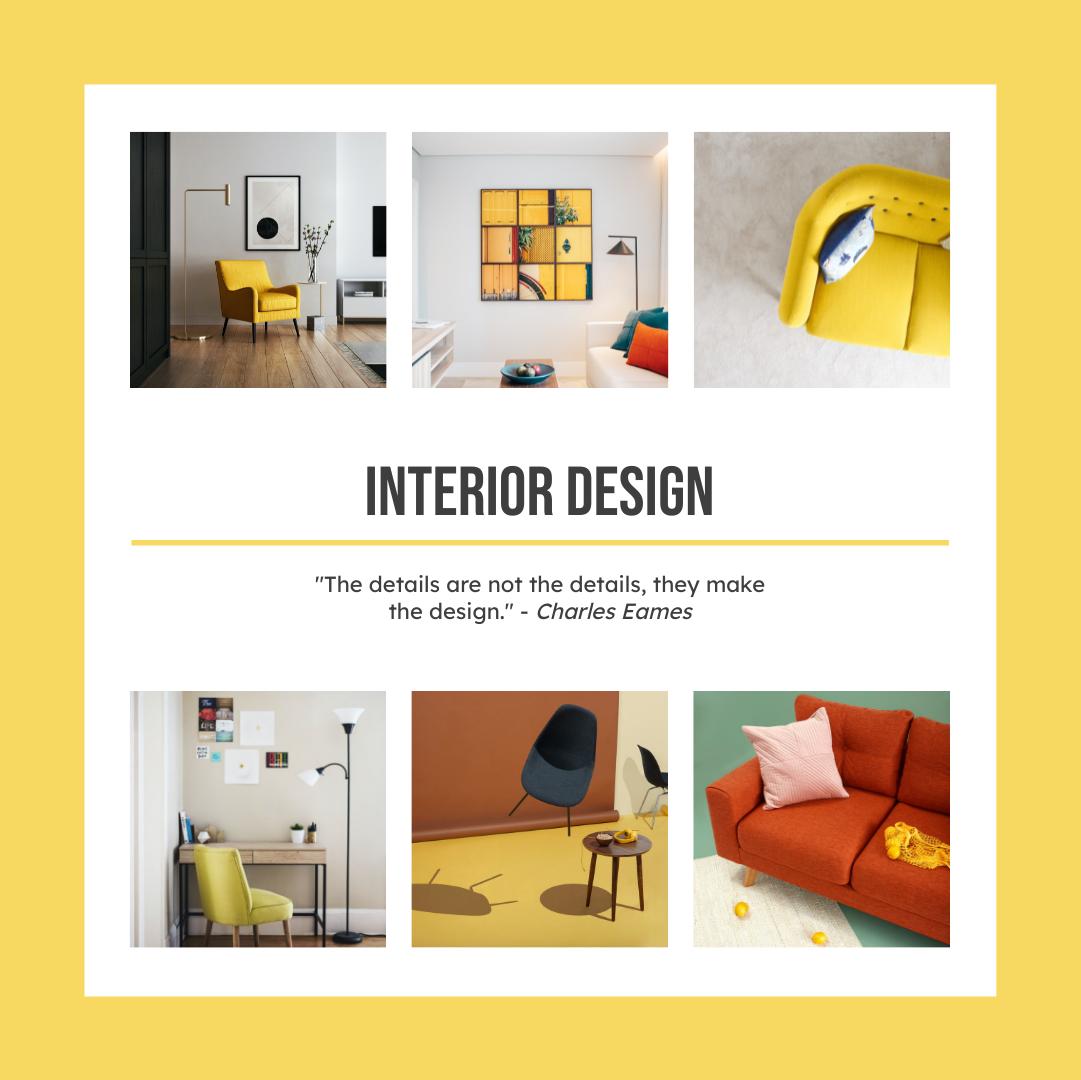Instagram Post template: Interior Design Details Instagram Post (Created by Collage's Instagram Post maker)