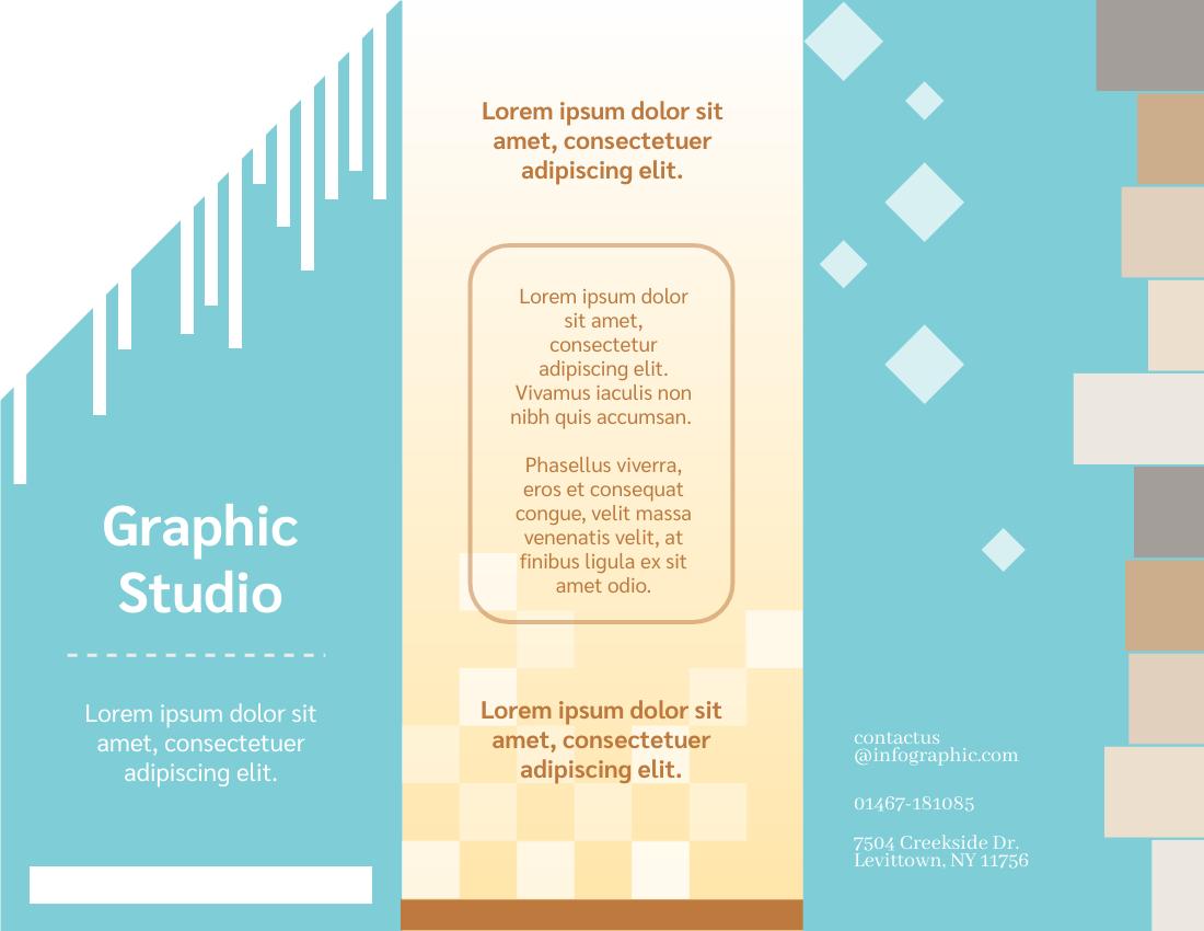 Brochure template: Graphic Brochure (Created by InfoART's Brochure marker)