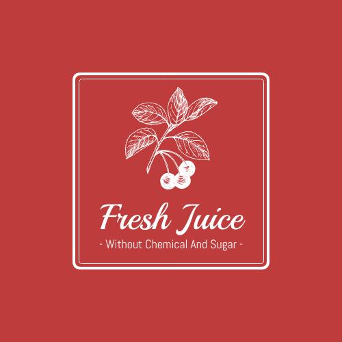 Logo template: Fruit Logo Created For Shop Selling Fresh Juice (Created by InfoART's Logo maker)