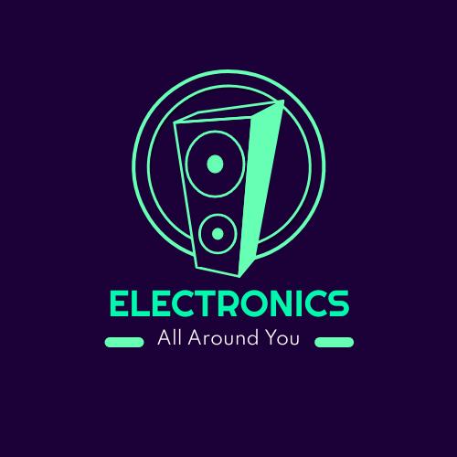 Logo template: Mint Electronics Logos (Created by InfoART's Logo maker)