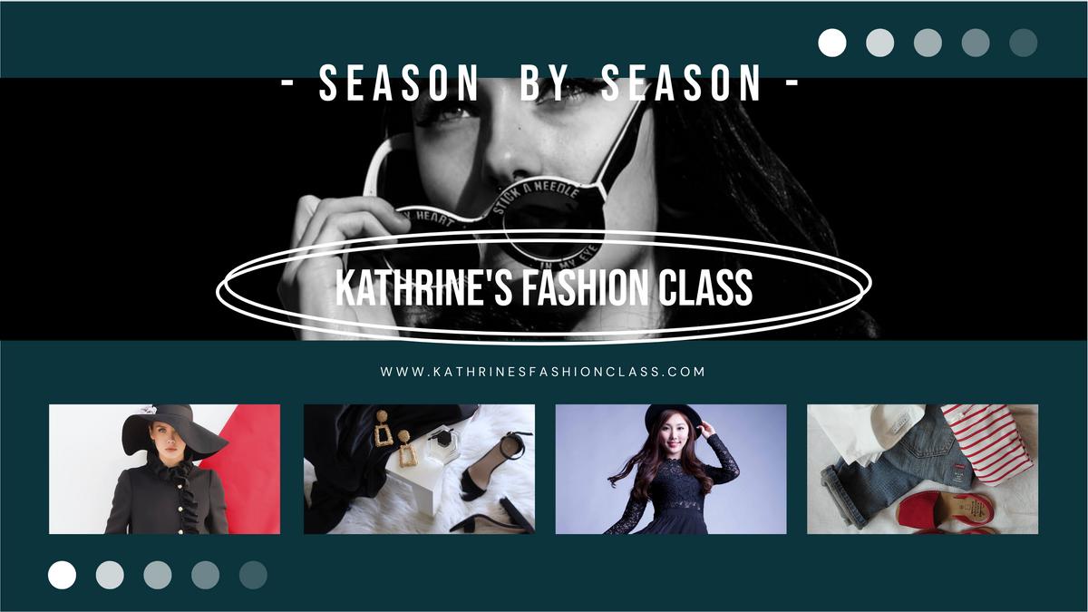 YouTube Channel Art template: Stylish Fashion Class YouTube Channel Art (Created by Collage's YouTube Channel Art maker)