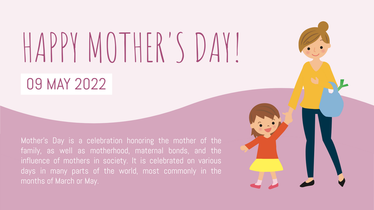 Twitter Post template: Mother's Day Celebration Twitter Post (Created by InfoART's Twitter Post maker)