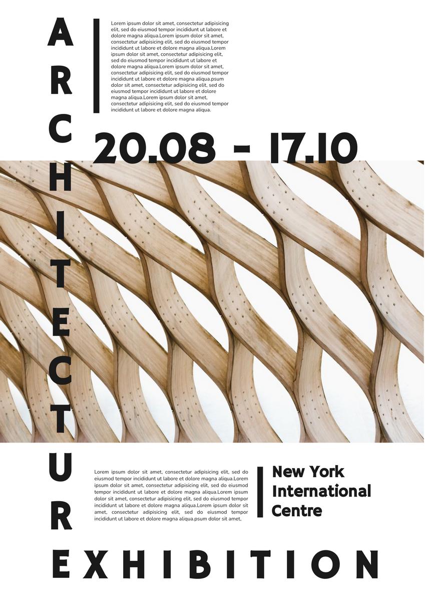 Architecture Exhibition Poster