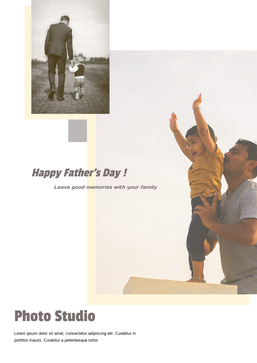 Flyer template: Father's day flyer (Created by InfoART's Flyer maker)