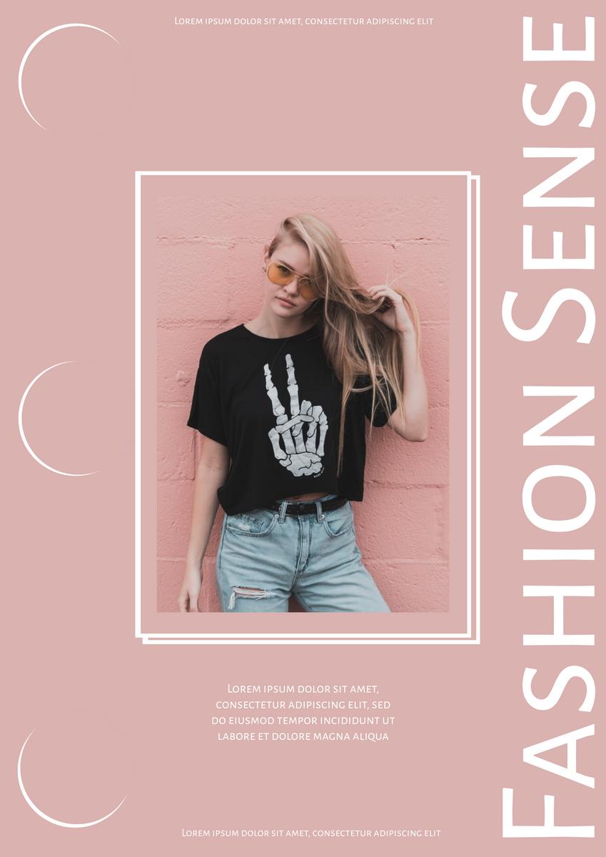 Fashion Sense Poster