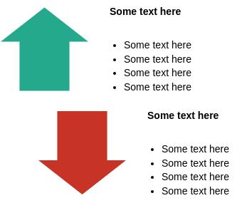 Relationship Block Diagram template: Opposing Arrows (Created by Diagrams's Relationship Block Diagram maker)