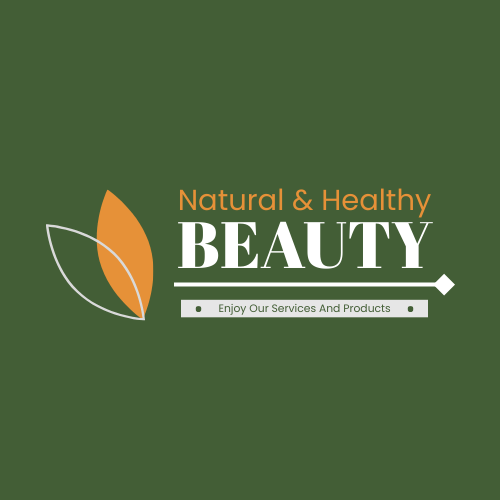 Logo template: 2-Colour Logo Created For Natural Beauty Products And Services (Created by InfoART's Logo maker)