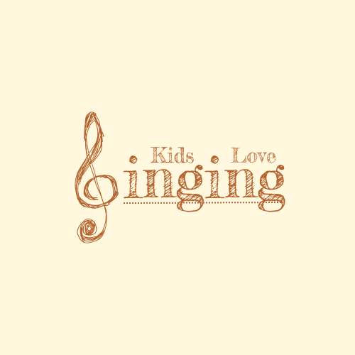 Logo template: Cute Logo Created For Children Singing Club (Created by InfoART's Logo maker)