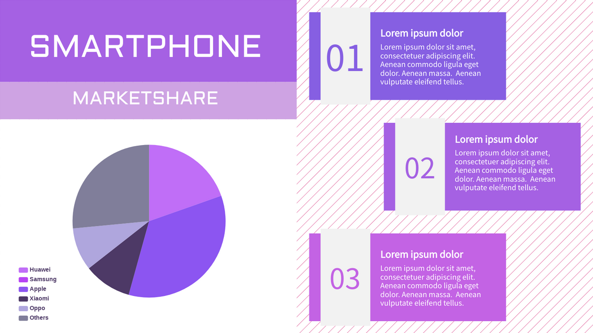 Electronic Sales Pie Chart   Pie Chart Template