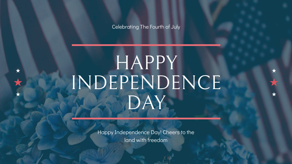 Twitter Post template: America Flag Independence Day Twitter Post (Created by InfoART's Twitter Post maker)