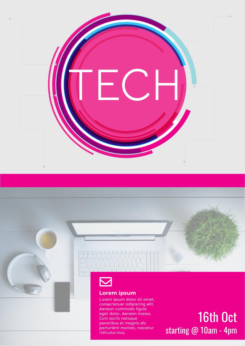 Flyer template: Technical Fair Flyer (Created by InfoART's Flyer maker)