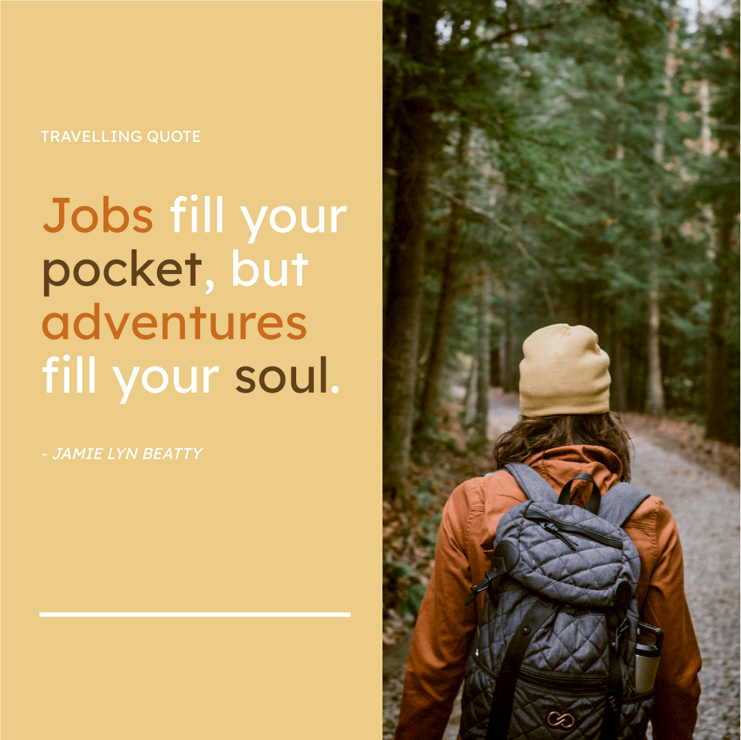 Instagram Post template: Adventure Inspiration Quote Instagram Post (Created by InfoART's Instagram Post maker)