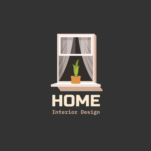 Logo template: Graphic Logo Generated For Interior Design Company (Created by InfoART's Logo maker)