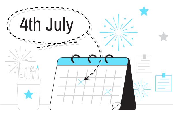 Festival Illustration template: 4th July (Created by Scenarios's Festival Illustration maker)
