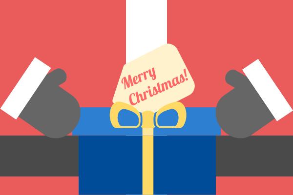 Greeting Card template: Santa Christmas Greeting Card (Created by InfoART's Greeting Card marker)