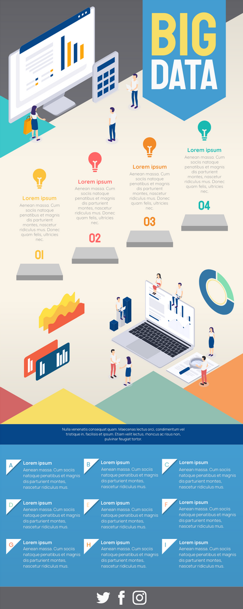 Infographic template: Big Data (Created by InfoART's Infographic maker)