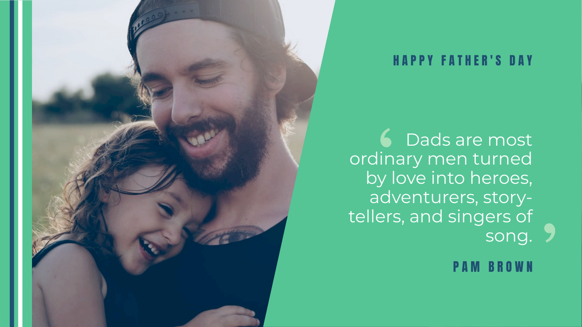 Twitter Post template: Father's Day Quote Twitter Post (Created by InfoART's Twitter Post maker)