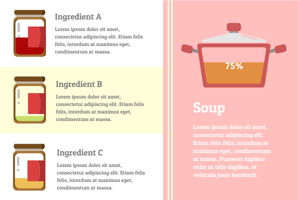 Container template: Soup Recipes (Created by InfoChart's Container maker)