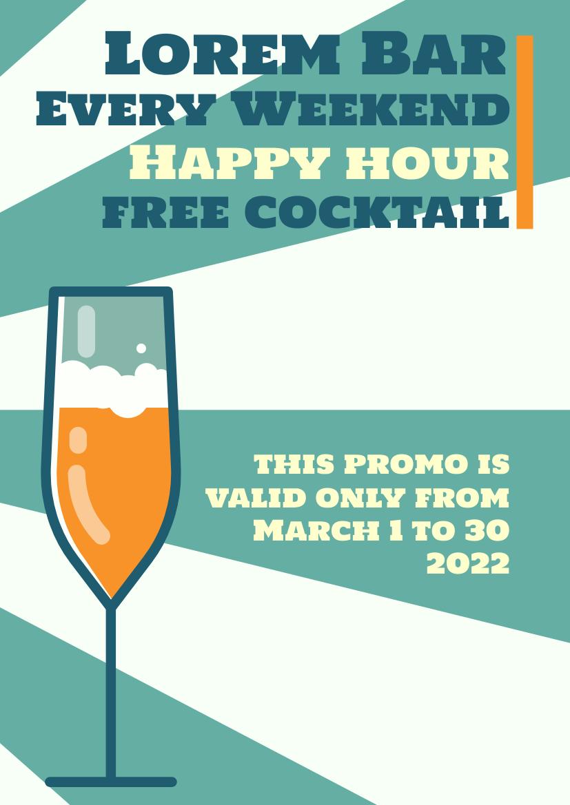 Flyer template: Promo Flyer (Created by InfoART's Flyer maker)