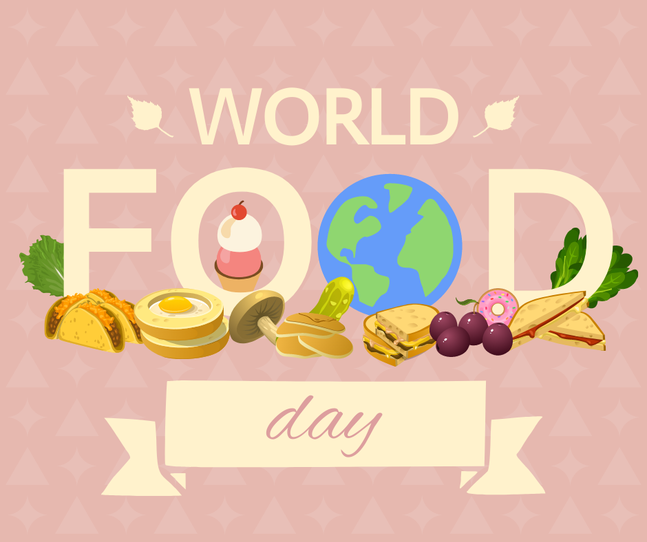 Facebook Post template: World Food Day Promote Facebook Post (Created by InfoART's Facebook Post maker)