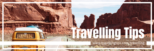 Email Header template: Photography Email Header About Tips When Travelling (Created by InfoART's Email Header maker)