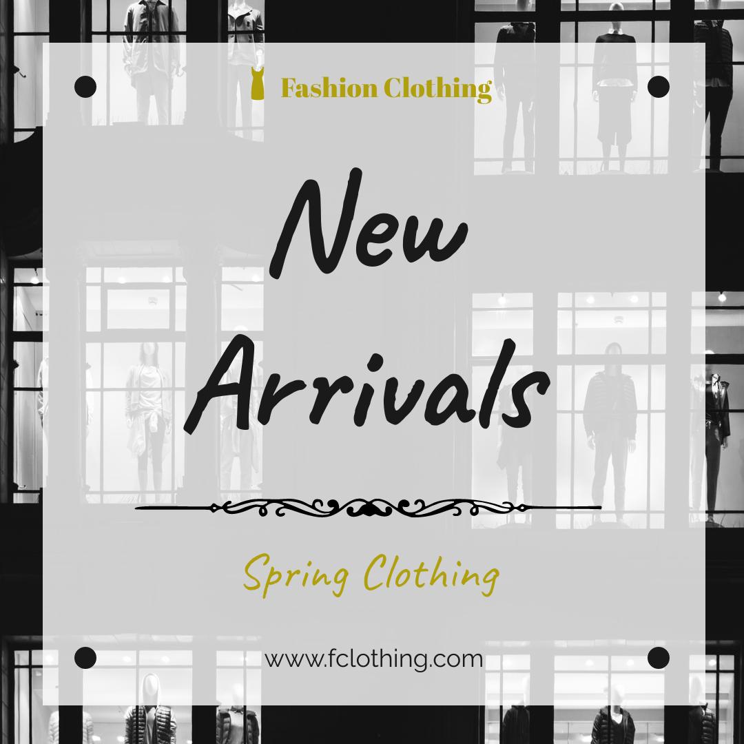 Instagram Post template: Spring Clothing New Arrivals Instagram Post (Created by InfoART's Instagram Post maker)
