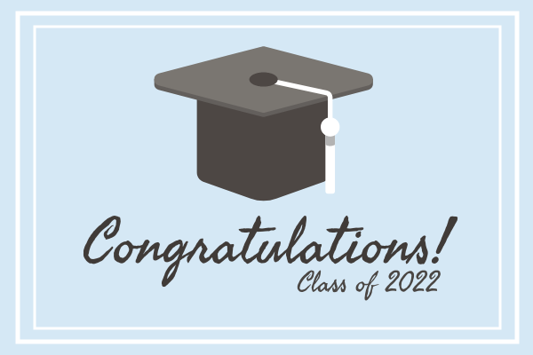 Greeting Card template: Graduation Card (Created by InfoART's Greeting Card maker)