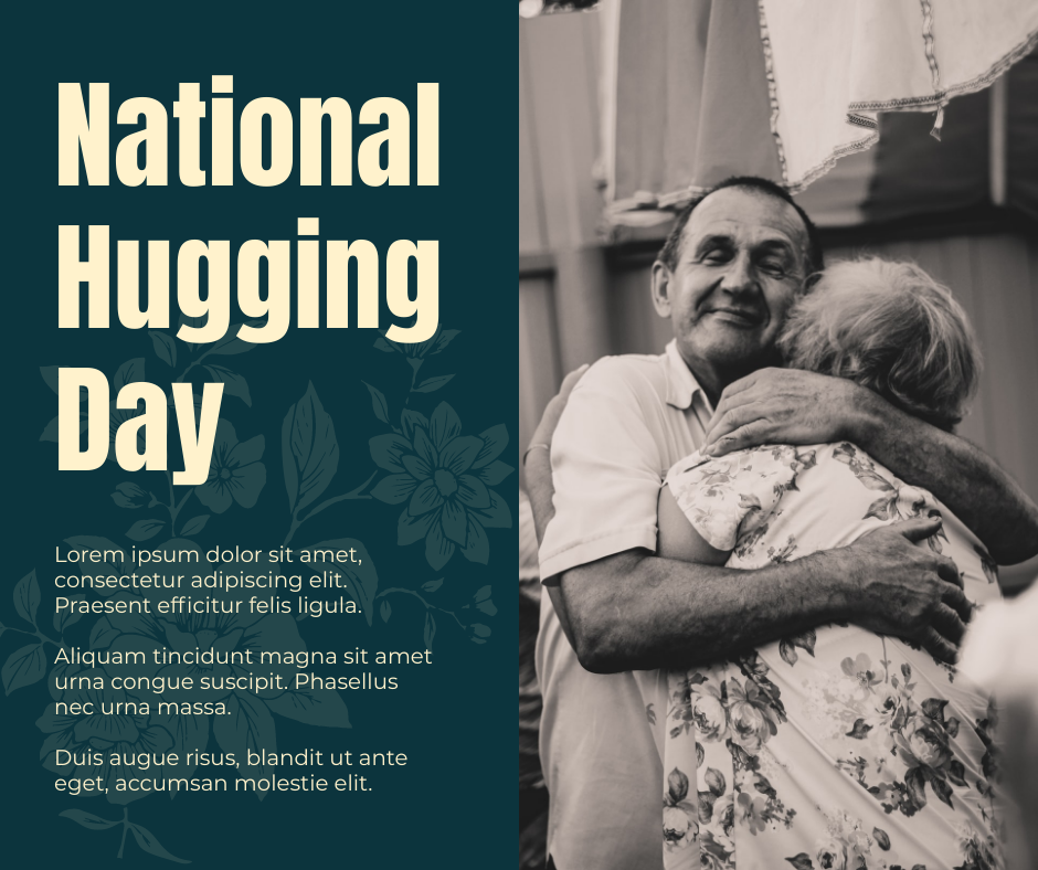 Facebook Post template: National Hugging Day Facebook Post (Created by InfoART's Facebook Post maker)