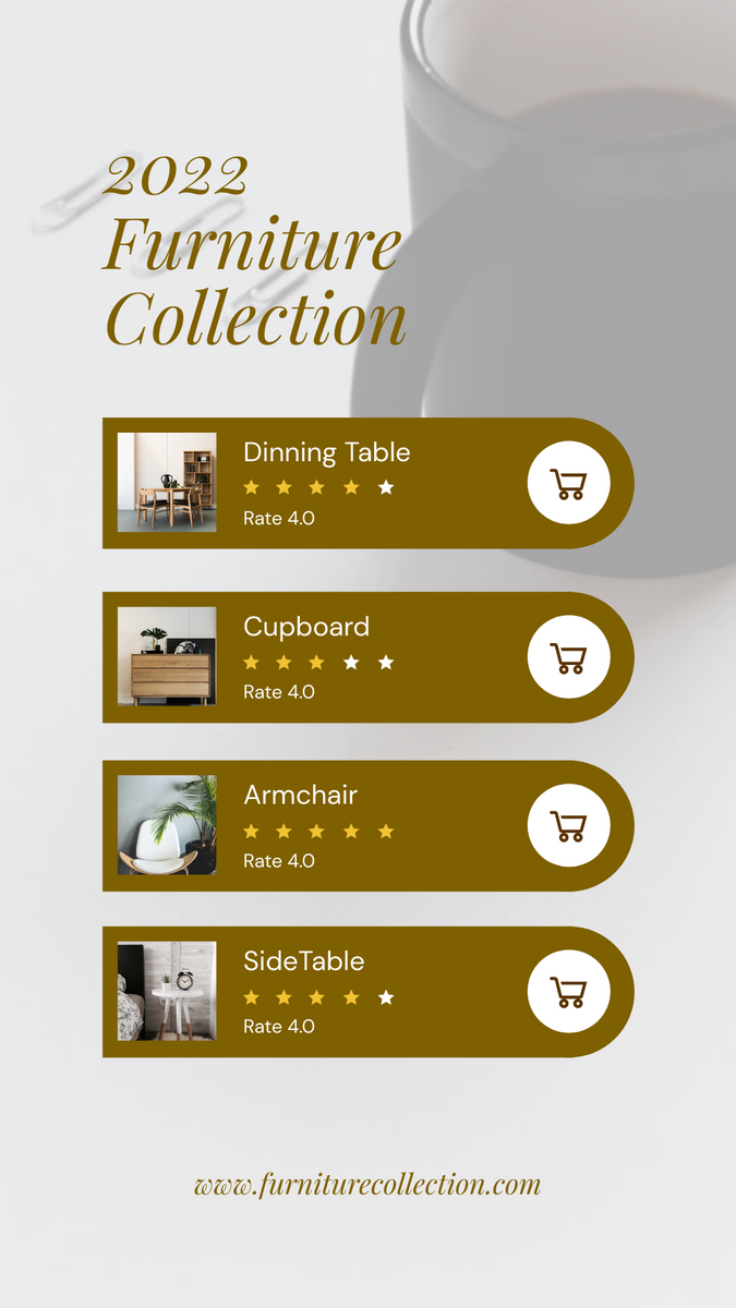 Instagram Story template: New Furniture Collection Promotion Instagram Story (Created by InfoART's Instagram Story maker)
