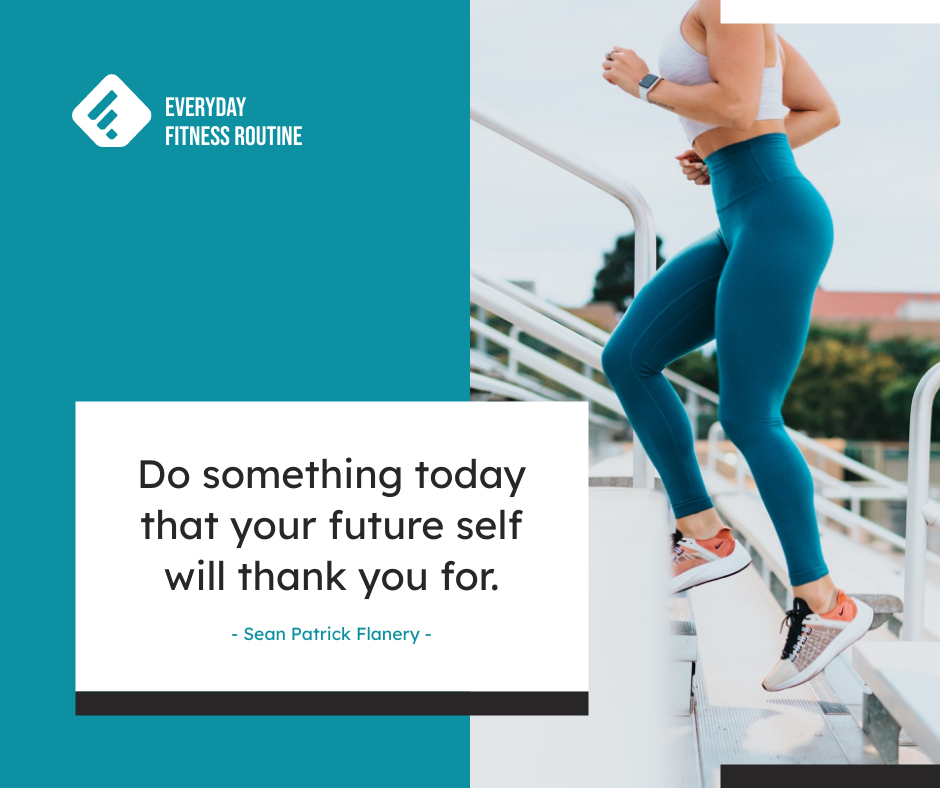 Facebook Post template: Blue And White Running Quotes Fitness Routine Facebook Post (Created by InfoART's Facebook Post maker)