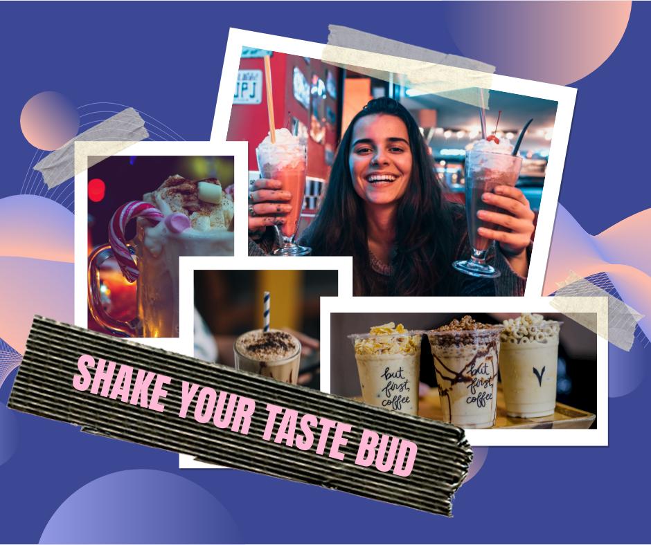 Facebook Post template: Milkshake Foodie Facebook Post (Created by Collage's Facebook Post maker)
