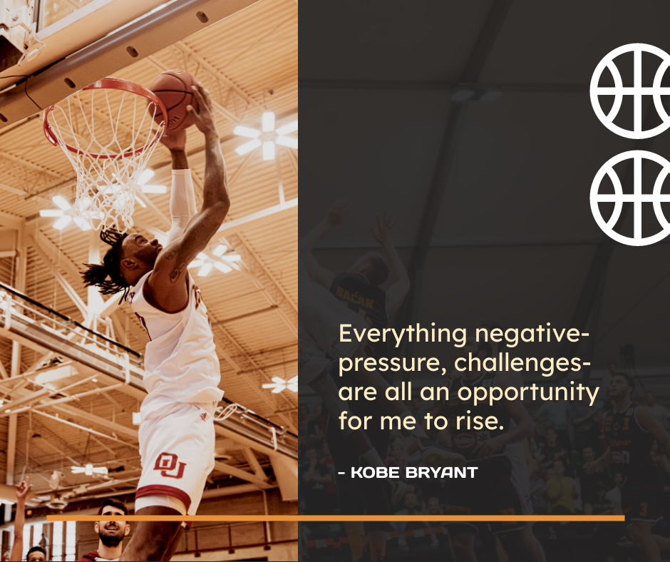 Facebook Post template: Basketball Kobe Bryant Quote Facebook Post (Created by InfoART's Facebook Post maker)