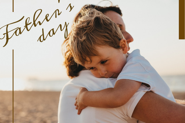 Greeting Card template: Father's Day Card (Created by InfoART's Greeting Card maker)