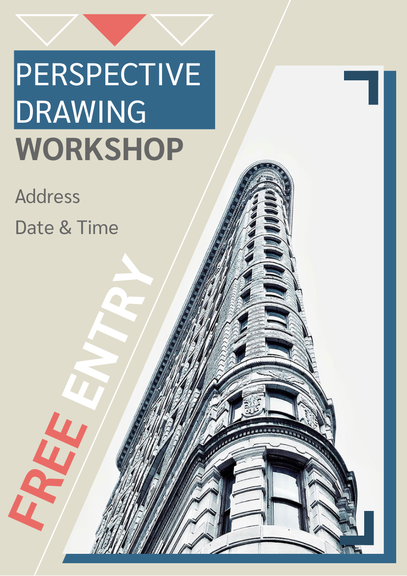 Drawing Workshop Flyer