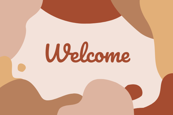 Greeting Card template: Welcome Greeting Card (Created by InfoART's Greeting Card maker)