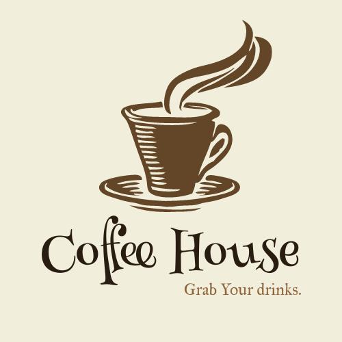 Logo template: Coffee House Logo (Created by InfoART's Logo maker)