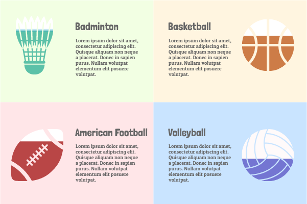 Sport template: Sports Comparison (Created by InfoChart's Sport maker)
