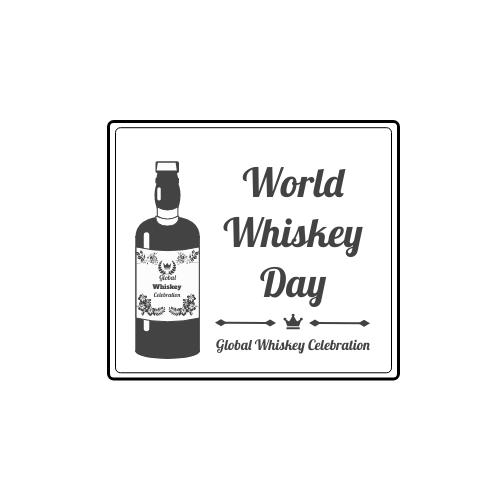 Logo template: World Whiskey Day Logo (Created by InfoART's Logo maker)