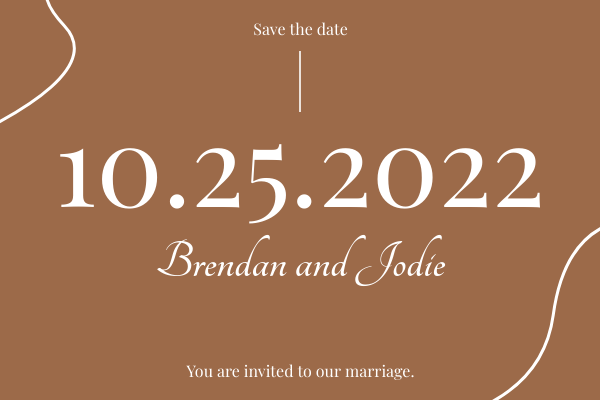 Greeting Card template: Marriage Card (Created by InfoART's Greeting Card maker)