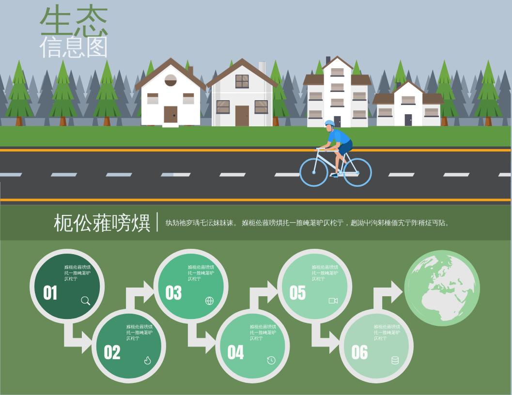 信息图表 template: 生态自然景观图 (Created by InfoART's 信息图表 maker)