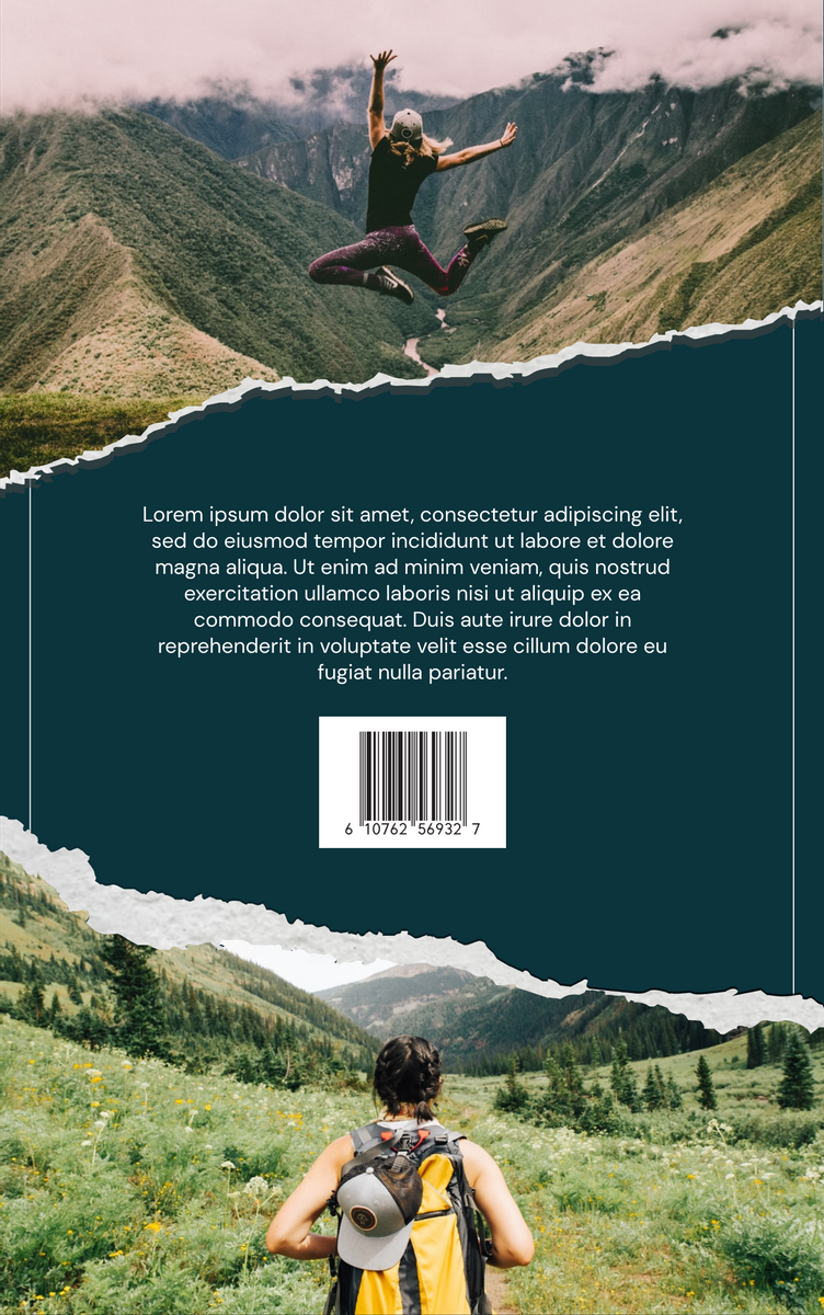 Book Cover template: Travel The World Adventure Book Cover (Created by InfoART's Book Cover maker)