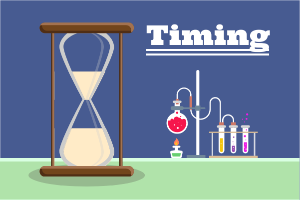 Laboratory template: Timing By Sandglass (Created by InfoChart's Laboratory maker)