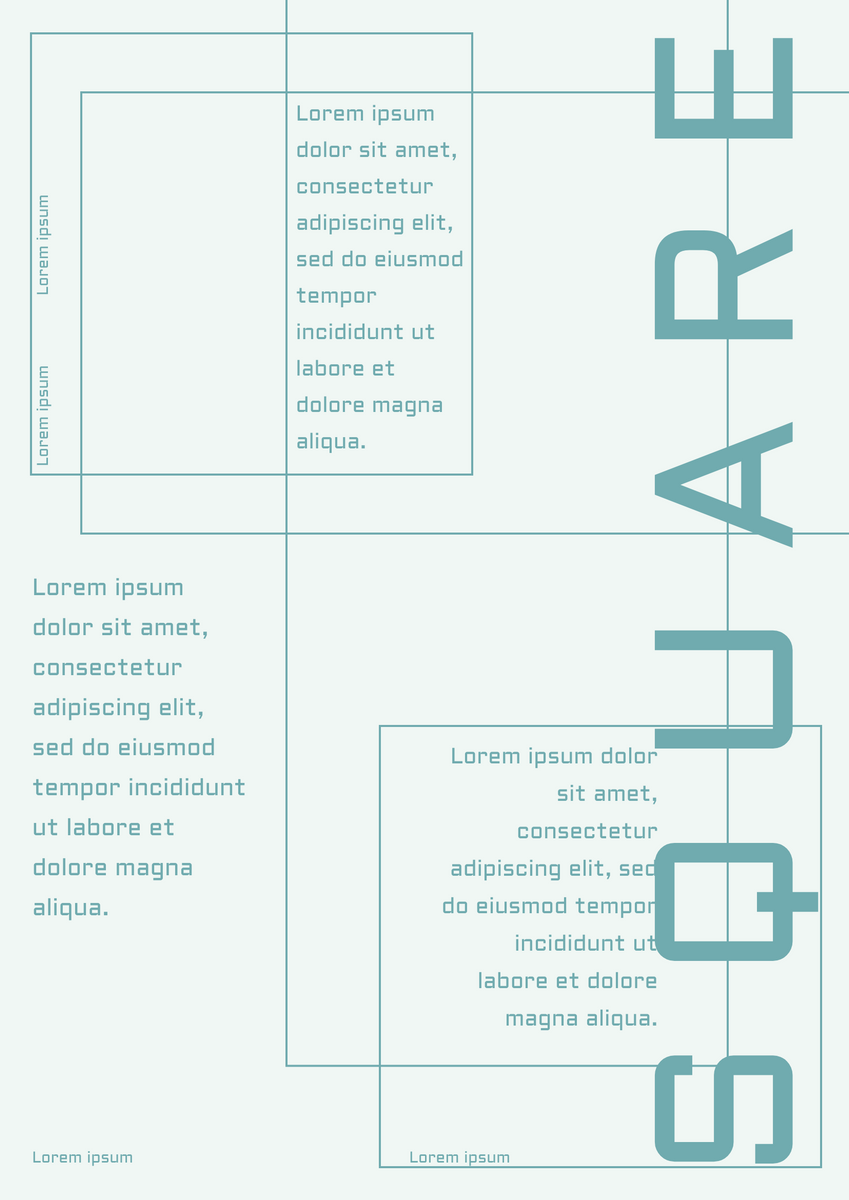Poster template: Square Graphic Design Poster (Created by InfoART's Poster maker)