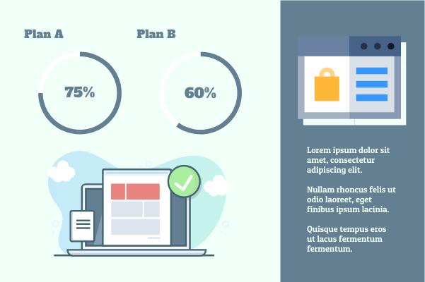 Business template: Plan Comparison (Created by InfoChart's Business maker)