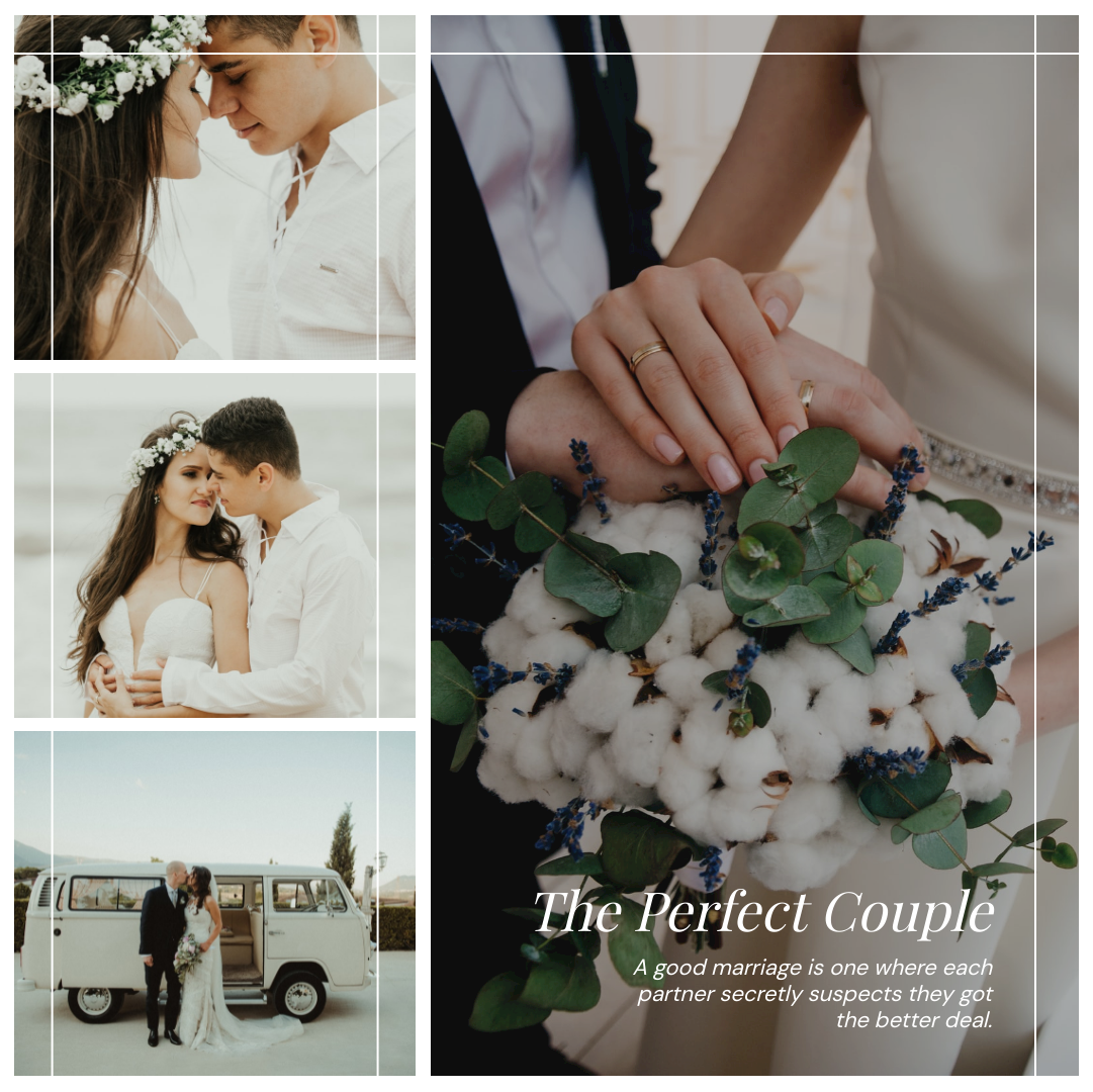 Instagram Post template: The Perfect Couple Instagram Post (Created by Collage's Instagram Post maker)