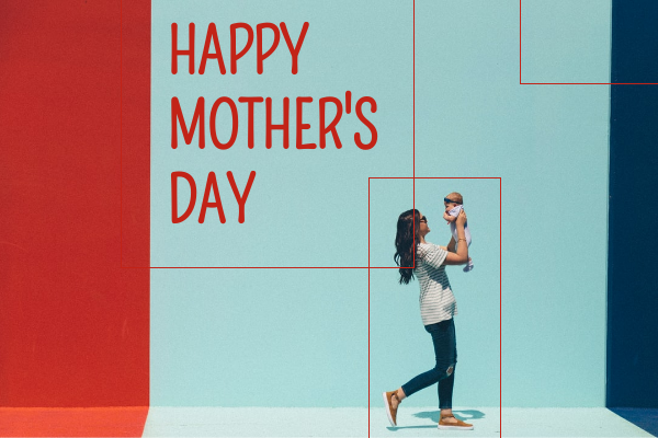 Greeting Card template: Happy Mother Day Greeting Card (Created by InfoART's Greeting Card maker)